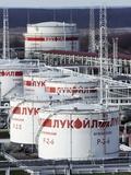 Oil Storage Tanks Posters by Ria Novosti