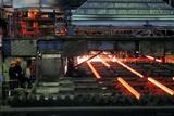 Molten Steel Bars Poster by Ria Novosti