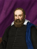 Galileo Galilei, Italian Astronomer Poster by Maria Platt-Evans