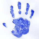 Human Handprint Photographic Print by  PASIEKA
