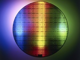 Semiconductor Wafer Photographic Print by  PASIEKA