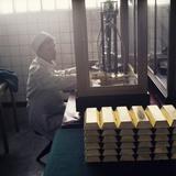 Gold Ingots Reprodukcja zdjęcia autor Ria Novosti