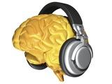 Brain with Headphones, Artwork Prints by  PASIEKA