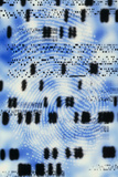 Artwork of DNA Sequences And a Human Fingerprint Photographic Print by  PASIEKA