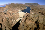 Hoover Hydroelectric Dam, Colorado River, USA Posters by David Parker