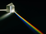 White Light Passing Through a Prism Premium Photographic Print by David Parker