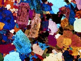 Polarised LM of Grain Diorite In Thin Section Premium Photographic Print by  PASIEKA