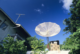 Satellite Dish Photographic Print by David Nunuk