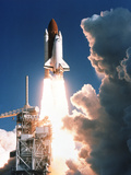 Space Shuttle Launch Photographic Print by  NASA