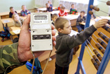 School Radiation Levels Near Chernobyl Photographic Print by Ria Novosti