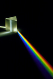 White Light Passing Through a Prism Photographic Print by David Parker