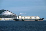 Liquefied Natural Gas Tanker Photographic Print by Ria Novosti