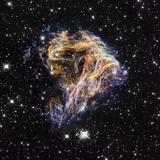 Supernova Remnant LMC N 49 Premium Photographic Print