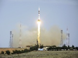 Launch of Soyuz TMA-15 Mission Photographic Print by Ria Novosti