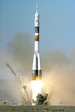 Soyuz TMA-12 Launch, April 2008 Photographic Print by Ria Novosti