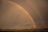 Double Rainbow Over Colorado Prints by Magrath Photography