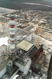 Chernobyl Reactor Clear-up Photographic Print by Ria Novosti