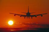 Boeing 747 Fotografisk tryk af David Nunuk