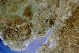 True-colour Satellite Image of Severn Estuary, UK Photographic Print by  PLANETOBSERVER