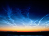 Noctilucent Clouds Photographic Print by Pekka Parviainen