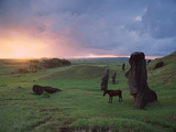 Easter Island Statues Photo by David Nunuk