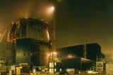 Sizewell B Under Construction Photographic Print by David Parker