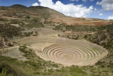 Inca Agricultural Terraces, Moray, Peru Photographic Print by Matthew Oldfield