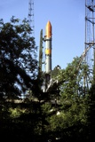Molniya Launcher on Launch Pad Photographic Print by Ria Novosti
