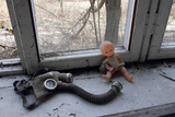Items Abandoned After Chernobyl Disaster Photographic Print by Ria Novosti