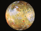 Jupiter's Moon Io Seen by Galileo Print by  NASA
