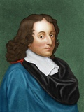 Blaise Pascal, French Mathematician Poster by Maria Platt-Evans