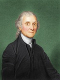 Joseph Priestley, British Chemist Fotografisk tryk af Maria Platt-Evans