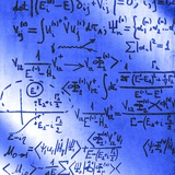 Particle Physics Equations Photographic Print by Ria Novosti