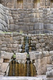 Inca Waterfall, Tambomachay, Cusco Photographic Print by Matthew Oldfield