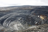 Gold Ore Open Cast Mining Photographic Print by Ria Novosti