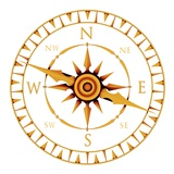 Compass Rose Photographic Print by  PASIEKA
