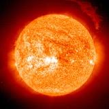Solar Prominence, SOHO Image Premium Photographic Print