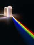 Light Through Prism Photographic Print by David Parker