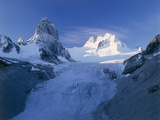 Bugaboo Spire And Vowell Glacier, Canada Photographic Print by David Nunuk