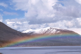 Rainbow Over a Lake Prints by Alan Sirulnikoff
