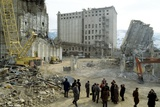 Earthquake Damage In Armenia 1989 Photo by Ria Novosti