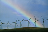 Wind Farm Photographic Print by David Nunuk