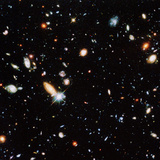 Very Distant Galaxies Photographic Print by  NASA