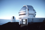 View of the Gemini Telescope Dome on Mauna Kea Posters by Magrath Photography