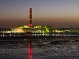 Fawley Oil Fired Power Station At Dusk Photographic Print by David Parker