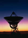 Very Long Baseline Array Radio Telescope, Hawaii Photographic Print by David Nunuk