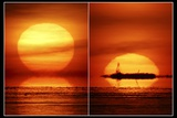 Sunset, Composite Image Photographic Print by Pekka Parviainen