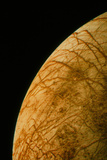 Voyager 2 Photo of Europa, One of Jupiter's Moons Photographic Print by  NASA