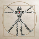 Robot, Artwork Photographic Print by Friedrich Saurer