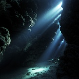 Underwater Cave Premium Photographic Print by Alexander Semenov